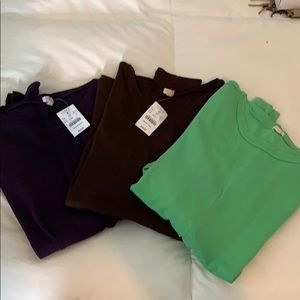 JCrew long sleeve size large bundle
